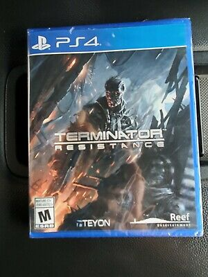 Terminator Resistance PS4 Sealed (Brand New)(Rare)