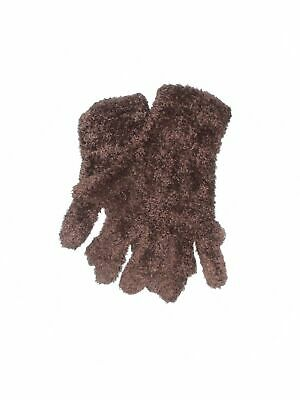 Unbranded Women Brown Gloves One Size