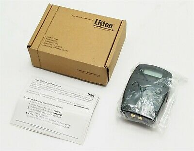 Listen Technologies LT-700-072 Portable Display FM RF Transmitter 72MHz New