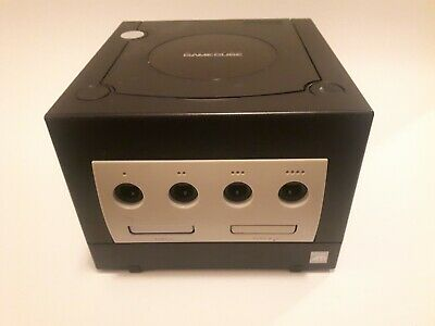 Nintendo GameCube Black Console Only Tested Works - Model DOL-001 - Replacement