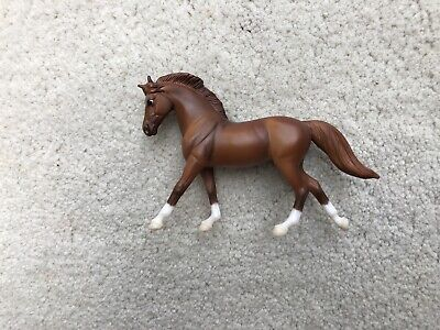 Breyer Horse Stablemate #5360 Eventing Play Set Chestnut Cantering Warmblood G3
