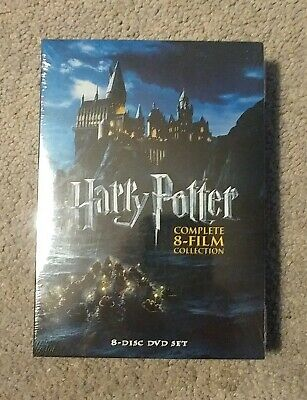 Harry Potter: Complete 8 Film Collection - 2011 8 DVD set - new sealed