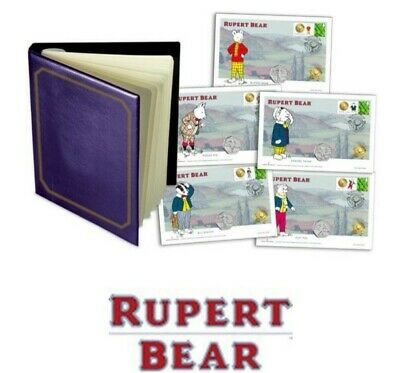 THE OFFICIAL RUPERT BEAR ANNIVERSARY COMPLETE 50p COVER COLLECTION
