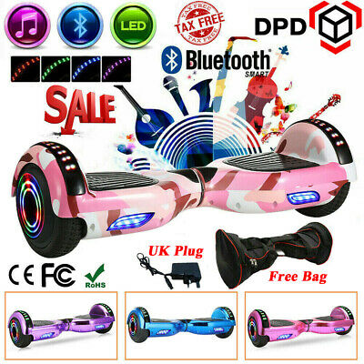 "6.5"" Self Balance Scooter Electric Scooter Balance Board Bluetooth+LED Wheel Pro"