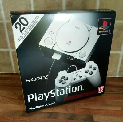 Sony PlayStation Classic - Mini Console with 20 Games