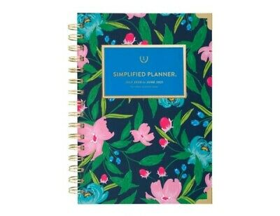 The Simplified Planner by Emily Ley- Hardcover 2020/2021 Weekly/Monthly