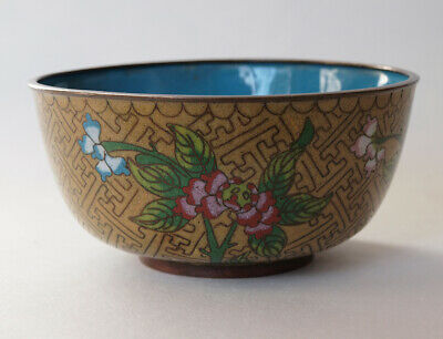 Early 20th Century Antique Chinese Cloisonne Bowl