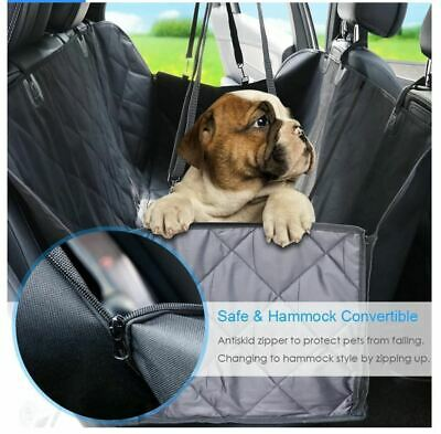 Dog Carrier Dog Car Seat Cover Waterproof Car Rear Back Mat Pet Travel Cat Dogs