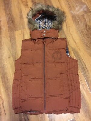 J Jeans Girls Fully Padded  Body Warmer/Gillet Aged 7-8 Years Old