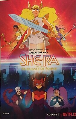 2019 SDCC SHE-RA Princess Of Power MATTEL Comic-Con POSTER set of 2