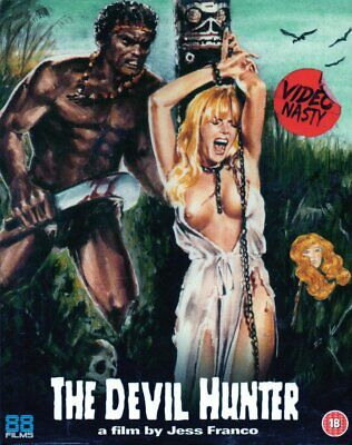 THE DEVIL HUNTER - Limited Edition In Slipcase - Blu Ray Disc..