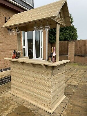 Garden Bar, Outdoor Bar, Free Delivery & Installation Within Leicestershire