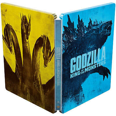 Godzilla King Of The Monsters 3D/2D Limited Edition Steelbook / WORLDWIDE P+P