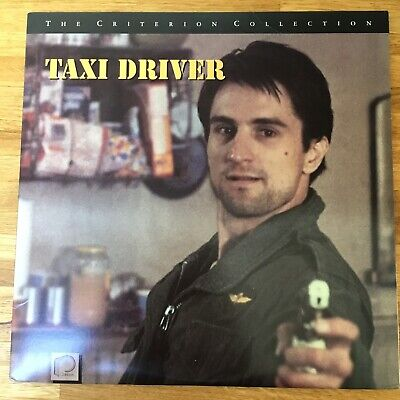 TAXI DRIVER - Laserdisc - 1990 Criterion **Like New**