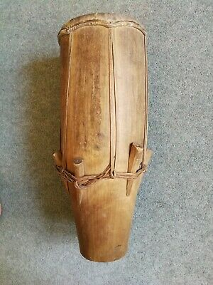 Antique drum Ivory Coast Cote d'Ivoire