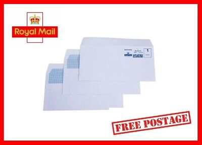 BRAND NEW - 1st First Class Postage Stamped Envelopes - FREE NEXT DAY POST