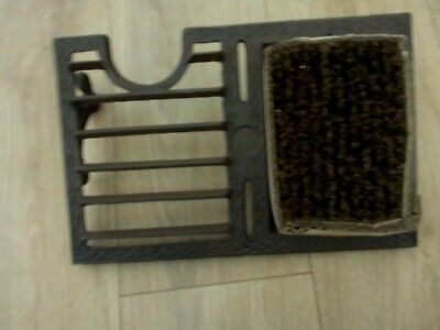 Boot Scraper & Brush Cast Iron Wellies Shoes Cleaner Brown traditional style