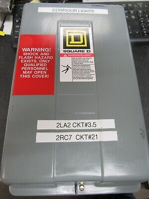Square D 8903 Lg20 Lighting Contactor With Enclosure (Nice Take Out)