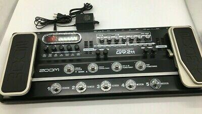 Zoom G9.2tt Multi Effects Console Guitar Effect Pedal Tube Preamp