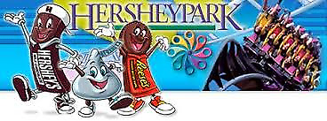 2020 Hershey Park One Day Admission Tickets Expire 7/31/20 Almost 50% off Retail