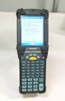 Symbol Motorola MC9090-GF0HJEFA6WW Wireless Barcode Scanner w/ Battery & Stylus