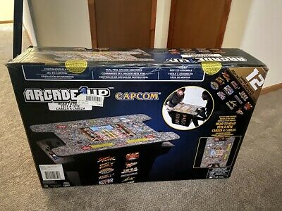Arcade1Up - Deluxe 12-in-1 Head to Head Cocktail Table Street Fighter 1944 NEW!!