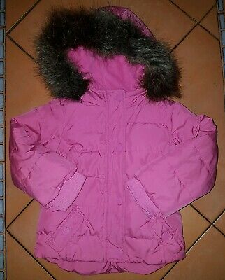 Baby Gap Girl's Pink Feather & Down Winter Hooded Coat Toddler Age 2 Years