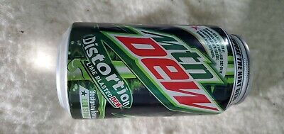 UNOPENED Mountain Dew Distortion