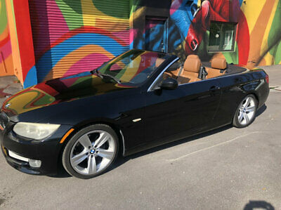 2011 BMW 3 Series 328i 2011 BMW 328ic Hard Top Convertible Sport Black Over Saddle Leather Automatic!!