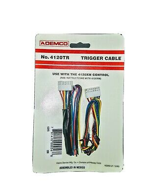 Honeywell Ademco 4120TR Trigger Cable for 4120XM Control Panel. 12 available