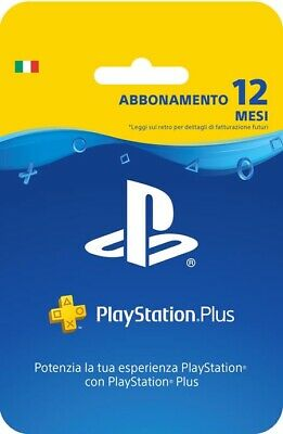Ps Plus 12 Mesi