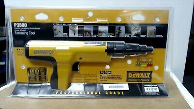Dewalt DDF212035P Semi-Automatic Powder Actuated Fastening Tool P3500.