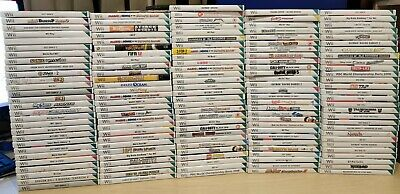 Nintendo Wii Games - Multi-listing - V Good Condition - Games Updated Regularly