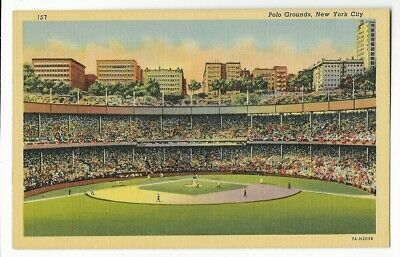 Polo Grounds,Stadium ~New York,Ny,New York~Home Of The Giants-Ct 1937