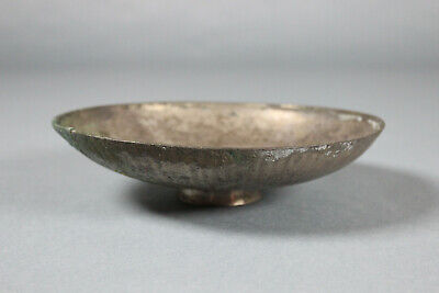 Ancient Greek Silver Phiale Libation Dish Bowl Greece Ex Dr Gerald Smith Col