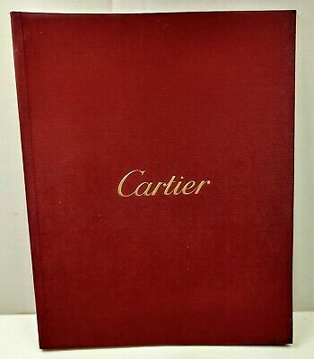 2 Authentic Cartier Illustrated Watch Promo Catalogues Tank Santos Roadster