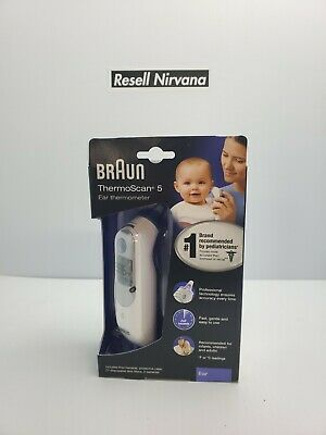 Braun ThermoScan 5 IRT6500 Baby Infants Digital Ear Thermometer - Free Shipping