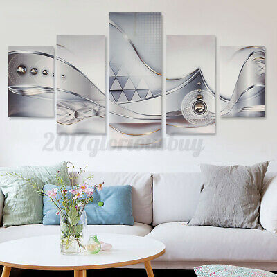 5Pcs Modern Abstract Giclee Canvas Print Art Painting Picture Home Wall Decor