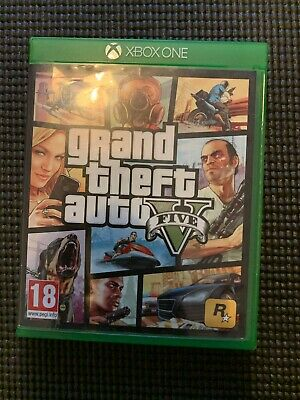 Grand Theft Auto V, Microsoft Xbox One, - VERY GOOD CONDITION - BARELY PLAYED