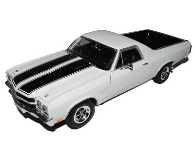 Chevrolet Chevy El Camino Weiss Pick-up 3. Generation 1968-1972 1/18 Welly Model