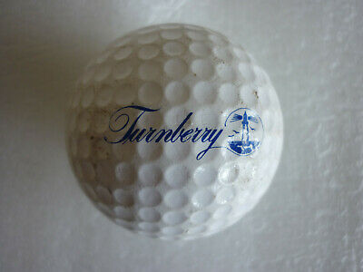 DUNLOP 65i GOLF BALL OPEN CHAMPIONSHIP 1986 TURNBERRY COLLECTOR'S ITEM