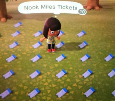 Animal Crossing: New Horizons 400 NOOK MILES TICKETS QUICK DELIVERY - ONLINE -