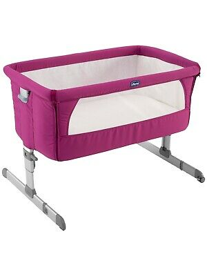Chicco Next 2 Me Bed Side Sleeping Crib - Fuscia Pink (excellent Condition)