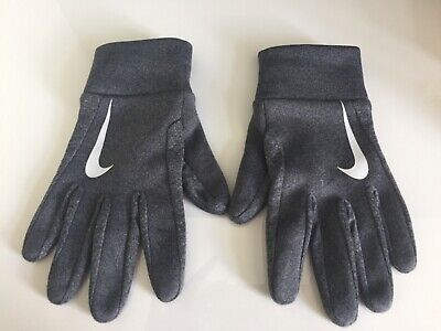 NIKE BOYS Or GIRLS GLOVES SPORTS GLOVES GOOD CONDITION GREY AGE 10-12 YEARS