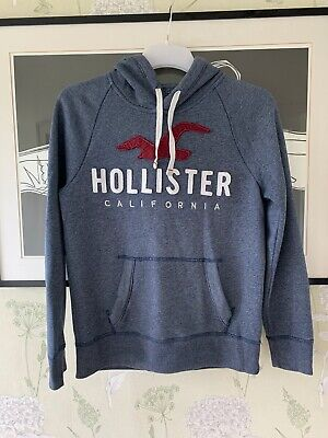 Mens Blue Hoodie From HOLLISTER - Size XS