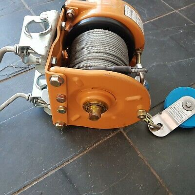 G Winch Lifting Personnel