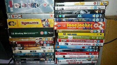 JOB LOT OF 50 DVDs BUNDLE CAR BOOT MARKET RESALE