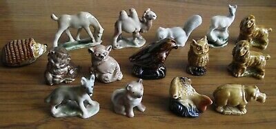 A Lovely Vintage Lot Of Fifteen Various Wade Whimsies
