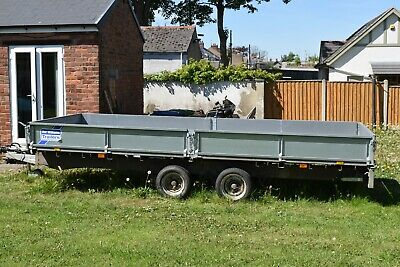 Ifor Williams Trailer 3500kg 16ft drop sides with ramps