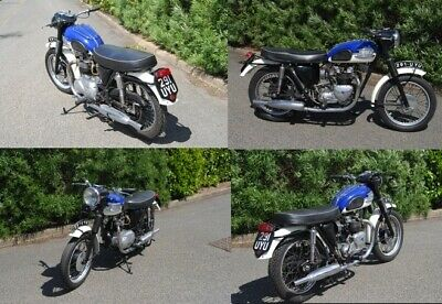 Triumph 1959 speedtwin 5TA  500cc classic motorcycle Excellent condition